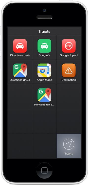 iOS 9: Launch Center Pro dans le centre de notifications!