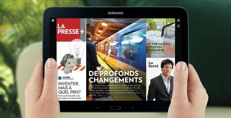 La Presse+ viendra remplacer le format papier du lundi au vendredi
