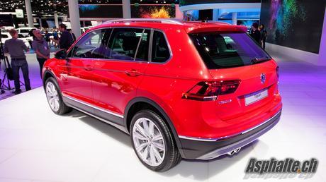 Frankfurt 2015 : VW Tiguan 2ème génération