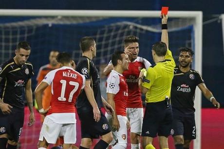 LdC : Arsenal piégé à Zagreb, Giroud voit rouge