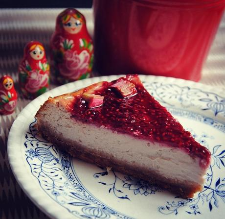 Cheesecake red passion