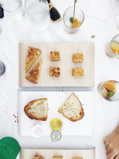 Bloggers tour Spain: Delica trays at yök casa+cultura