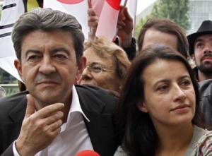 Jean-Luc Mélenchon et Cécile Duflot
