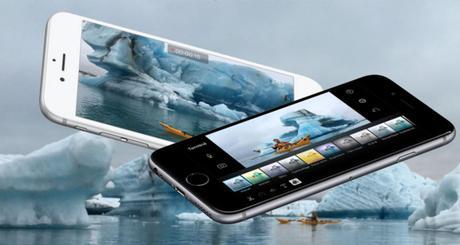iMovie sur iPhone permet la création et le partage des films dotés d'une résolution 4K