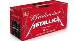 Metallica et Budweiser: Un duo coulé dans le rock!