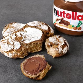 Gourmandise /Food : Le petit déjeuner Gontran Cherrier X Nutella