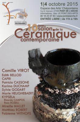 Le 10e salon de la céramique contemporaine à Pont-de-l'Arche