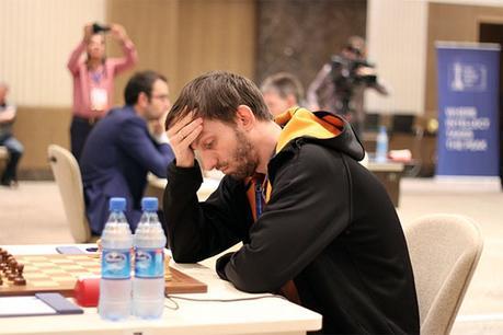 Le joueur d'échecs russe Alexander Grischuk a toujours des difficultés à gérer son temps © Chess & Strategy
