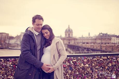 Séance photo grossesse et couple Paris