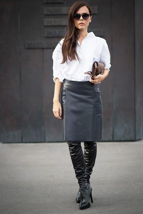cuissardes et jupe