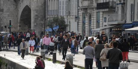 La Rochelle : l'air du port plus sain depuis la piétonnisation