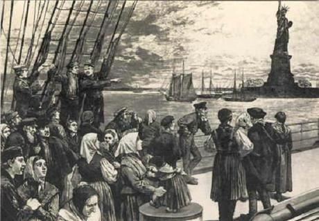 Un exemple d'émigration massive
