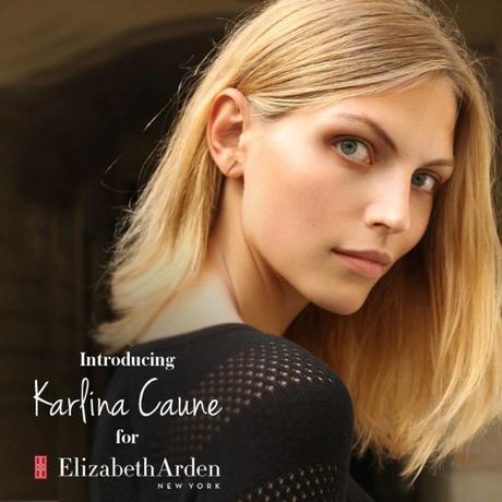 karlina-caune-elizabeth-arden-photo