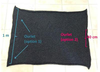 DIY : pull Cocon en 30 minutes chrono (tuto couture inside)