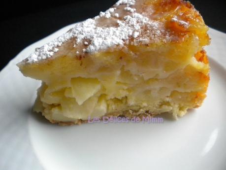 Sharlotka ou le cake aux pommes russe 4