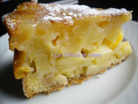Sharlotka ou le cake aux pommes russe 5