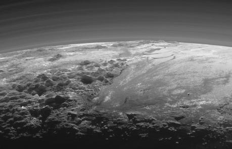 montagne et glaciers de Pluton