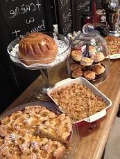 Buffet gâteaux du week-end