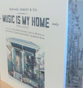 Nouvelle album de «Raphael Imbert» en écoute sur Bernay-radio.fr…