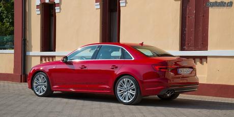 Essai Audi A4 (B9): le silence des anneaux