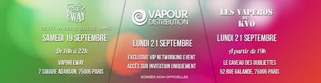 Vapexpo arrive à Paris ce week-end