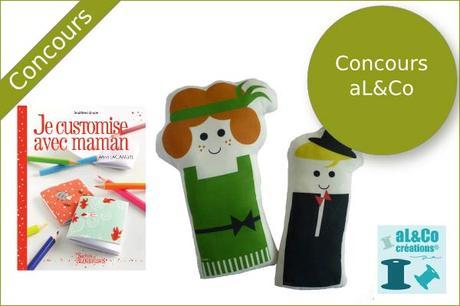 Gagnez le livre et un mini kit poupée de aL&Co !