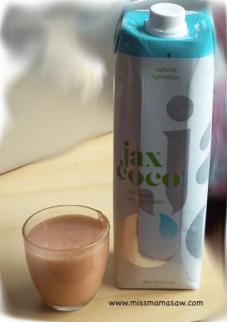 Smoothie à l'eau de coco : Payacoco (sans sucres ajoutés)