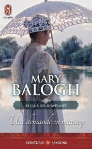 Une demande en mariage de Mary Balogh