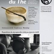 Exposition «Sur la Voie du Thé, Céramiques et Laques pour le Cha-no-yu» au Centre Céramique de Giroussens