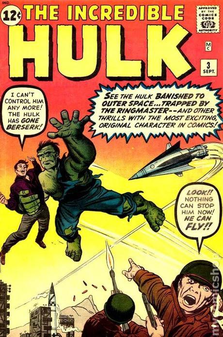 Marvel Comics-The Incredible Hulk #3-1962