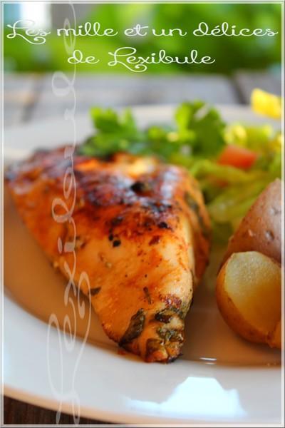 ~Poitrine de poulet citron et coriandre~