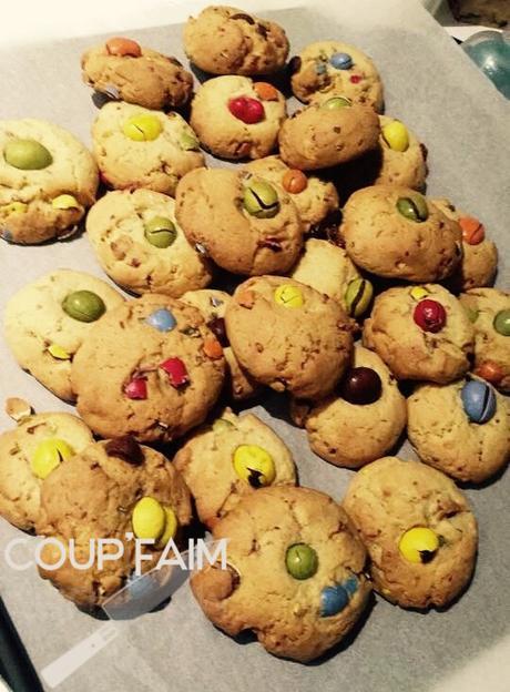 Biscuits moelleux au M&M's !