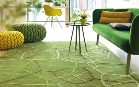 Tapis vert design