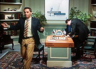 Kasparov perd contre Deep Blue en 1 heure en 1997 - Photo © Chess & Strategy