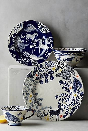 Saga Side Plate (© Anthropologie)
