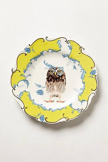 Nature Table Dessert Plate (© Anthropologie)