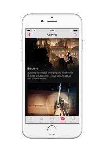 Burberry envahit toutes les plateformes : collaboration avec Apple et Snapchat