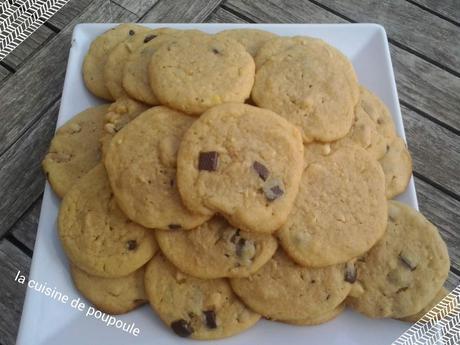 Cookies aux cacahuètes au thermomix ou sans