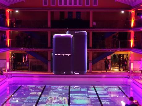 #NewEdgeNight : la soirée de lancement du Samsung Galaxy S6 Edge Plus à la Piscine Molitor