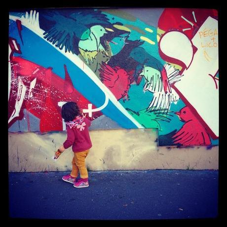 Chercher les couleurs un peu partout (c) D'une île à Paris