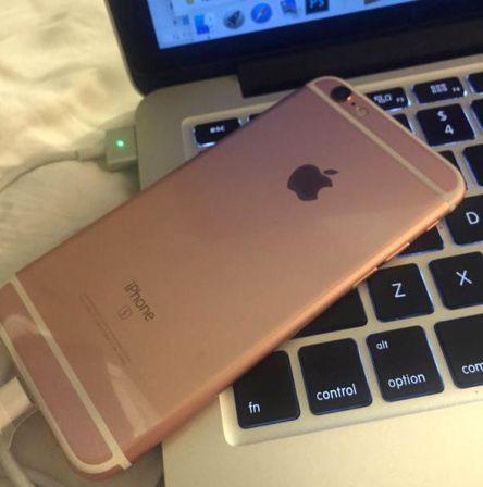 Elle aura reçu son iPhone 6S avant tout le monde