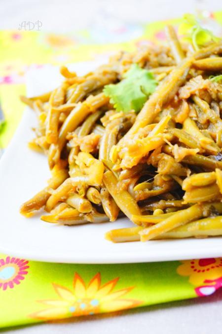 Haricots verts sautés à l'ail, recette facile