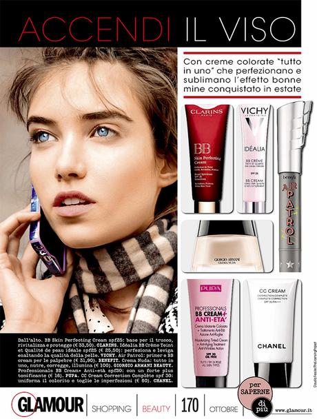 MODEMAJEURE Dans Glamour Italy
