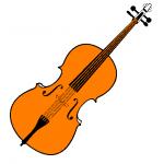 dessin de violon