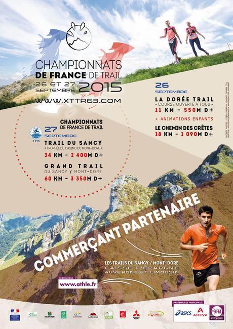 Championnats de France de Trail ce week end au Sancy!