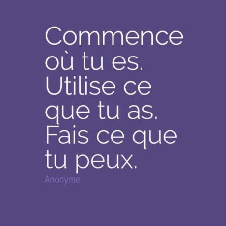 Commence…