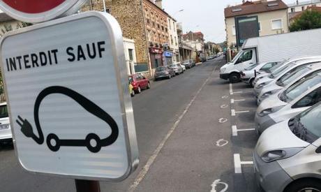 Illustration. 14 stations Autolib comme celle-ci (à Neuilly-Plaisance) vont voir le jour à Montreuil.
