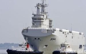 L'Egypte veut acheter les deux Mistral français conçus pour la Russie