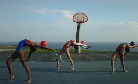 Une vidéo envoutante d'un entrainement de gymnastique
