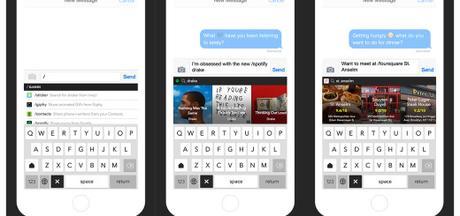 Slash Keyboard, un nouveau clavier pour iPhone qui remplace les mots par des commandes